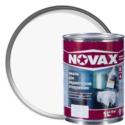 Эмаль для радиаторов Novax цвет белый 1 л цена