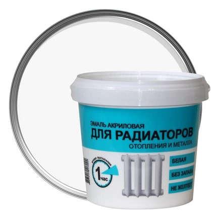 Эмаль для радиаторов отопления и металла Р-1780 цвет белый 1 кг цена