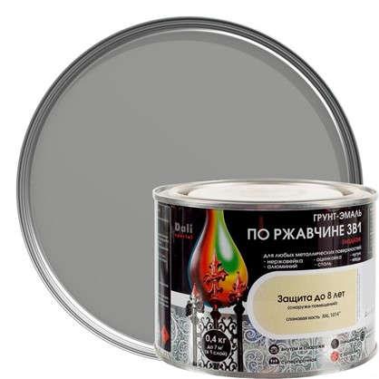 Эмаль гладкая Dali 3в1 цвет серебряный 0.4 кг