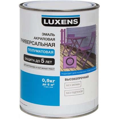 Эмаль универсальная Luxens 0.9 кг сиреневый цена