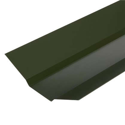 Ендова внешняя с полиэстеровым покрытием 2 м цвет зелёный цена
