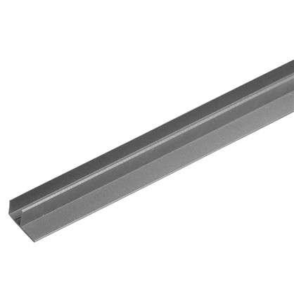 F-профиль 3000х63.5х30 мм цвет серый цена