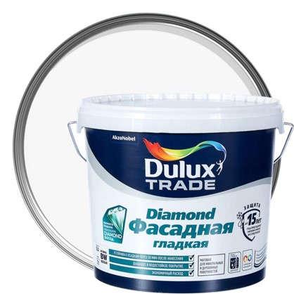 Фасадная краска Dulux Гладкая BW 5 л