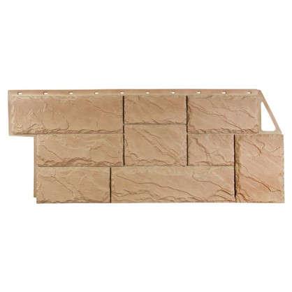 Фасадная панель FineBer Камень крупный цвет терракотовый цена
