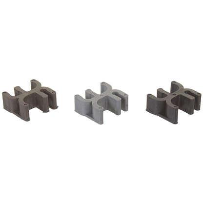 Фиксатор для арматуры Табурет 25х12 мм пластмасса 20 шт. цена