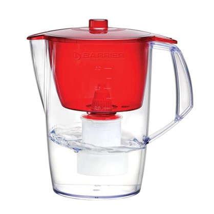 Фильтр-кувшин для очистки воды Барьер Лайт 3.6 л цвет красный цена