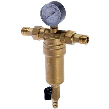 Фильтр механической очистки Euros для горячей воды 100 мкм цена