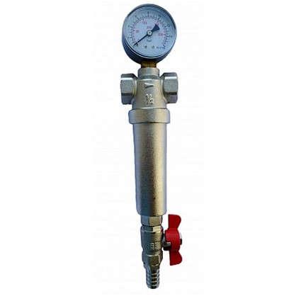 Фильтр механической очистки Euros для холодной и горячей воды 3/4 дюйма 300 мкм цена