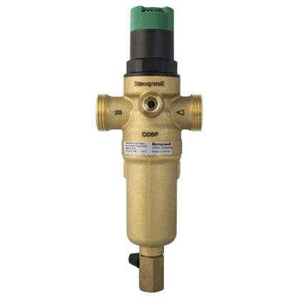 Фильтр механической очистки Honeywell для горячего водоснабжения с клапаном пониженного давления 100 мкм 3/4 дюйма цена