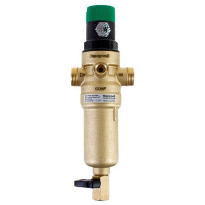 Фильтр механической очистки Honeywell для горячей воды с клапаном пониженного давления 1/2 дюйма 100 мкм цена