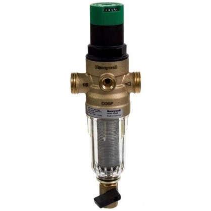 Фильтр механической очистки Honeywell для холодного водоснабжения с клапаном пониженного давления 100 мкм 1/2 дюйма цена