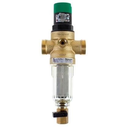 Фильтр механической очистки Honeywell для холодного водоснабжения с клапаном пониженного давления 100 мкм 3/4 дюйма цена