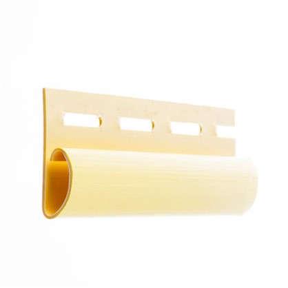 Финишная планка для сайдинга 3 м цвет желтый цена