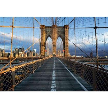 Фотообои бумажные Бруклинский мост 368х254 см цена