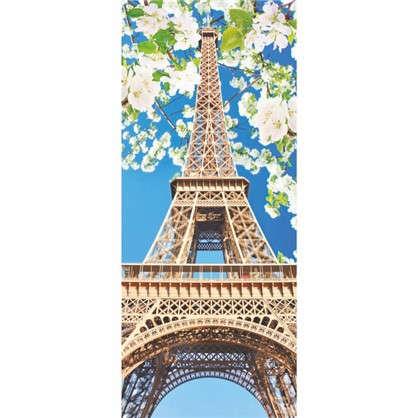 Фотообои бумажные Эйфелева башня 100x270 cм