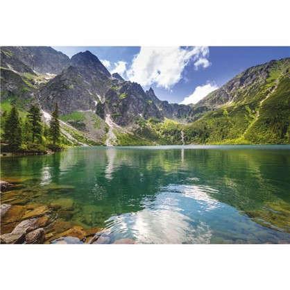 Фотообои бумажные Озеро 280x200 cм цена