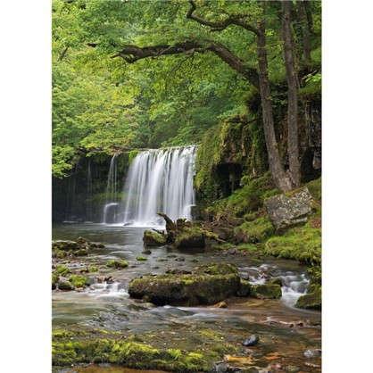 Фотообои бумажные Снежный водопад 184х254 см цена
