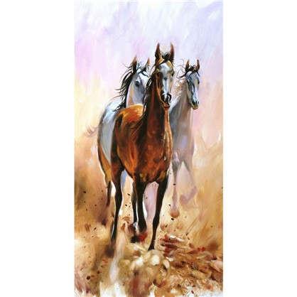 Фотообои флизелиновые Лошади 100х200 см цена