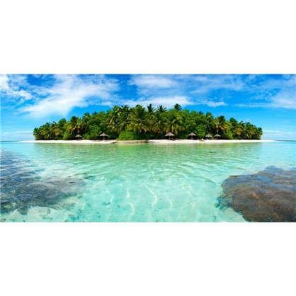 Фотообои флизелиновые Остров 200х100 см цена