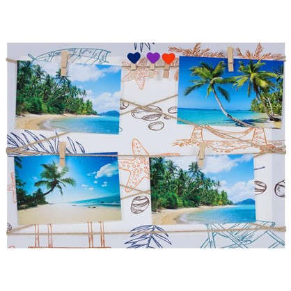 Фотосет Пальмы с прищепками 30х40 см