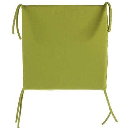 Галета для стула 35х35х2 см цвет горчичный цена