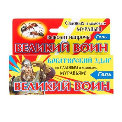 Гель от тараканов Великий воин 45 г