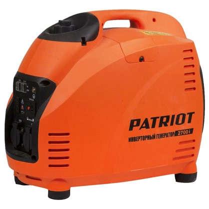 Генератор бензиновый инверторный Patriot 2700i 2.2 кВт цена