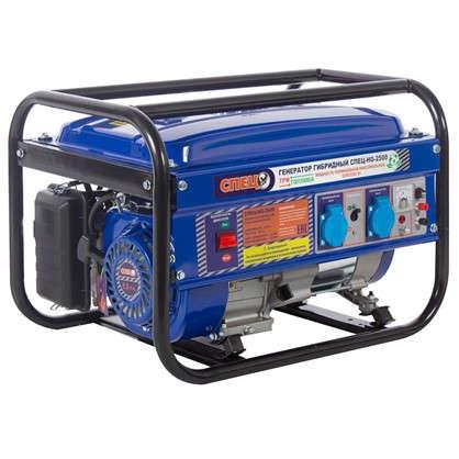 Генератор гибридный газ/бензин Спец 2 kВт цена