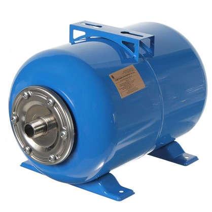 Гидроаккумулятор горизонтальный 24 л фланец нержавеющая сталь