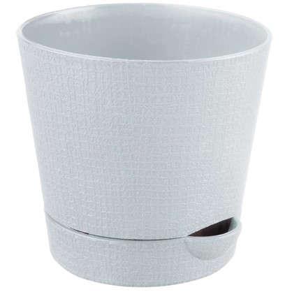 Горшок цветочный Партер кремовый 1.4 л 150 мм пластик цена