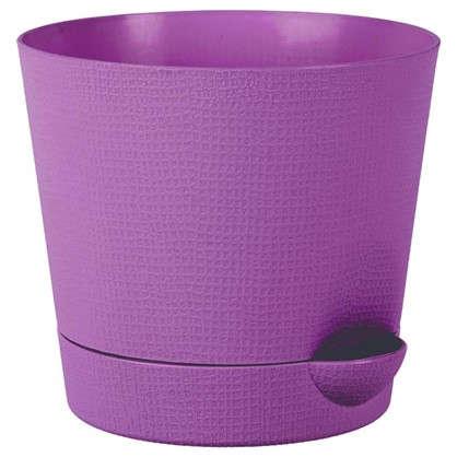 Горшок цветочный Партер сирень 1.4 л 150 мм пластик цена