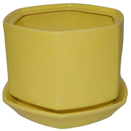 Горшок цветочный Шартрез №5 4.8 л 220 мм глина