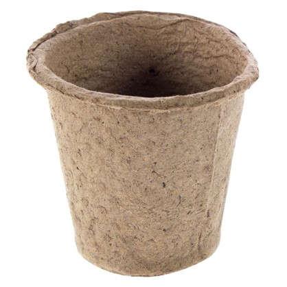 Горшок торфяной круглый 8х8 см 20 шт. цена