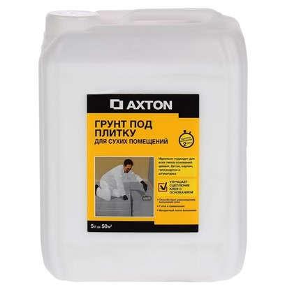 Грунтовка для сухих помещений Axton 5 л цена