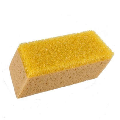 Губка Dexter двухсторонняя для чистки плитки