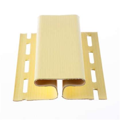 H-профиль для сайдинга 3 м цвет желтый цена