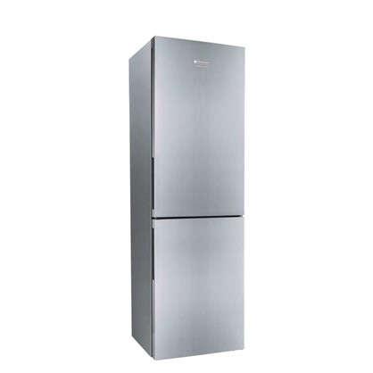 Холодильник двухкамерный Hotpoint Ariston HS 4180 X 185х60 см цвет нержавеющая сталь цена
