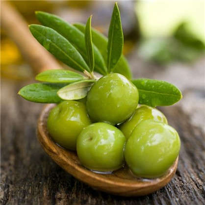 Холст 20х20 см Зеленые оливки цена