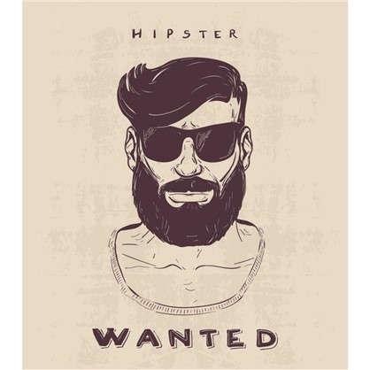 Холст 30х30 см Wanted