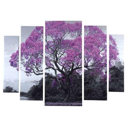 Холст модульный 80х115 см Муравьиное дерево цена