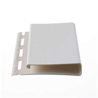 J-профиль 3050 мм широкий Country Standart цвет белый
