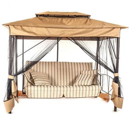 Качели-шатер в