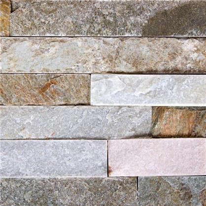 Камень натуральный Сланец цвет бежевый 0.63 м2 цена