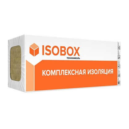 Каменная вата ISOBOX ЭКСТРАЛАЙТ 100 мм 432 м2 цена