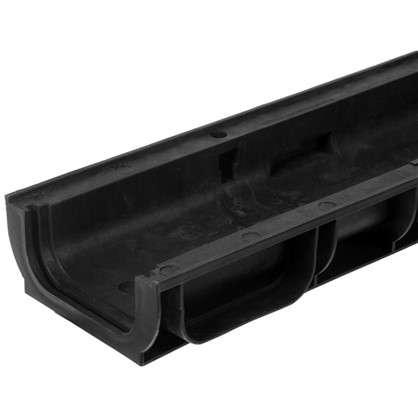 Канал пластиковый DN100 1000х145х60 мм цена