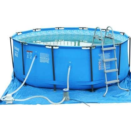 Каркас для плавающего бассейна 10250 л 366х122 см цвет голубой в