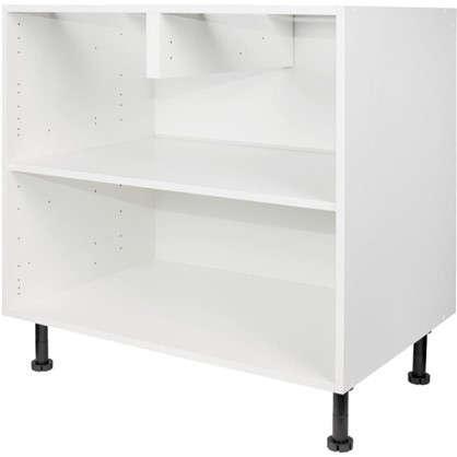 Каркас напольный 80х56х70 см ЛДСП цвет белый цена