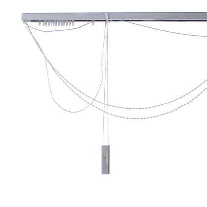 Карниз для вертикальных жалюзи к механизму 120х180 см металл цвет черно-белый цена