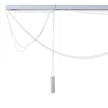 Карниз для вертикальных жалюзи к механизму 200х180 см металл цвет черно-белый цена