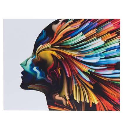 Картина без рамы 40х50 см Цветные фантазии-2 цена